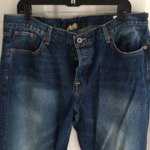 "Lucky Brand Jeans - Men's Lucky Brand Minor Slim 38x30"" Bootcut"